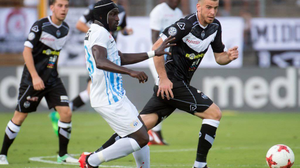 Spielte mit dem FCZ in Lugano nur Remis: Pa Modou, hier im Zweikampf mit Younes Bnou Marzouk