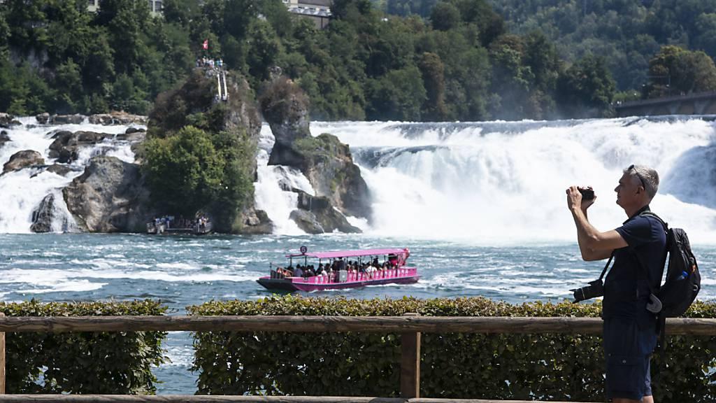 Tour de Suisse gastiert am grössten Wasserfall Europas