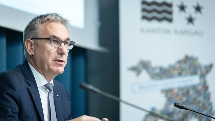 Regierungsrat Alex Hürzeler äusserte sich am Freitag zur Zukunft der Schulpflege.