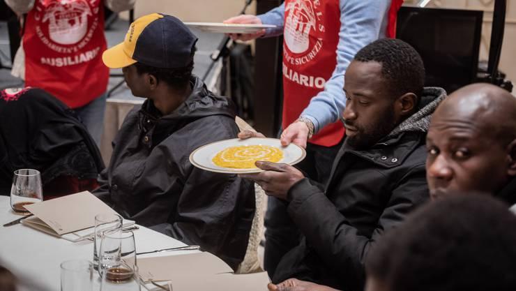 In Italien ist die Situation für viele Flüchtlinge prekär.