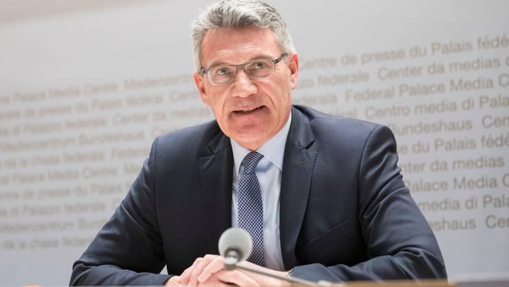 Nationalrat mit Einfluss, auch am Bundesstrafgericht: Pirmin Schwander.