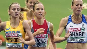 Wurde auf der Zielgeraden noch abgefangen: Die Schweizer 800-m-Läuferin Selina Büchel