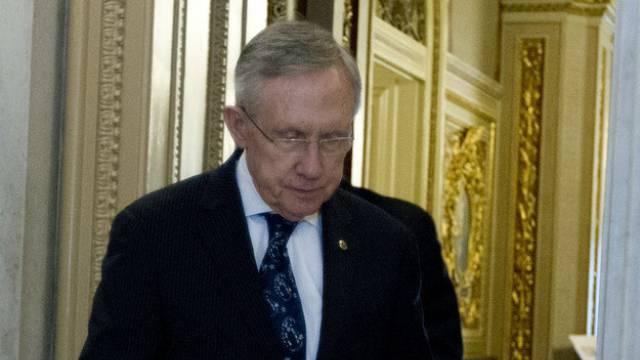 Kein Durchbruch: Der führende Senator der Demokraten, Harry Reid