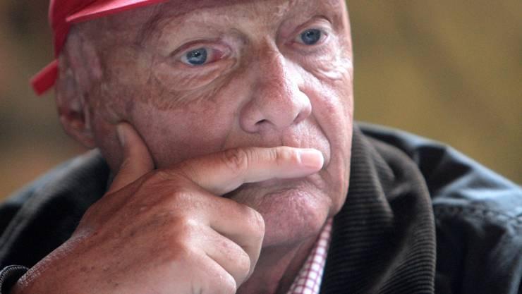 Niki Lauda geht es nach einer Lungentransplantation im August 2018 wieder besser. (Archiv)