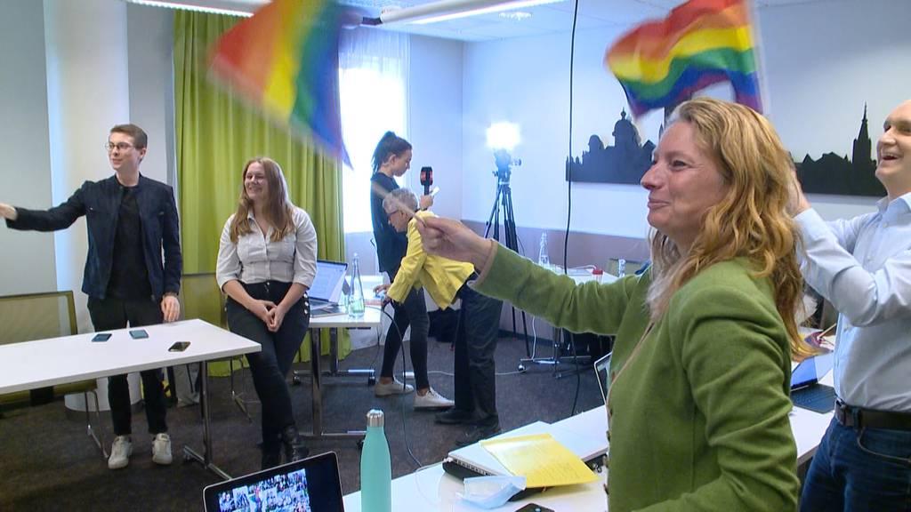 «Ehe für alle»: Grosse Freude bei den Homosexuellen