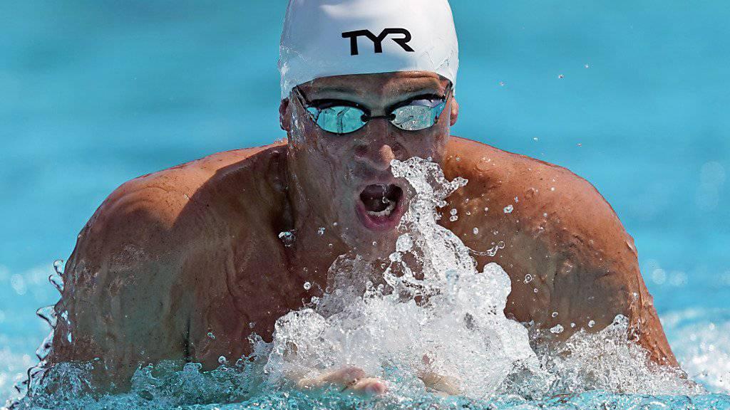 Ryan Lochte hat trotz dem Sieg über 200 m Lagen an den US-Meisterschaften noch viel Arbeit vor sich