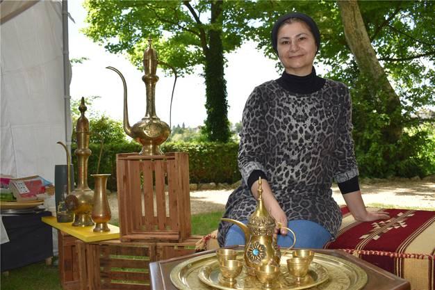 Syrische Spezialitäten und dazu Tee und Kaffee bei Nahed Razouk – am Multikulti-Festival kommt die Kulinarik nicht zu kurz.