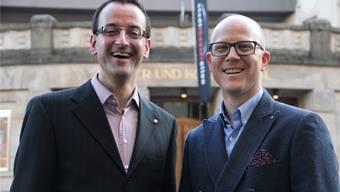 Stefan Ulrich (links) ist Geschäftsführer von Olten Tourismus.
