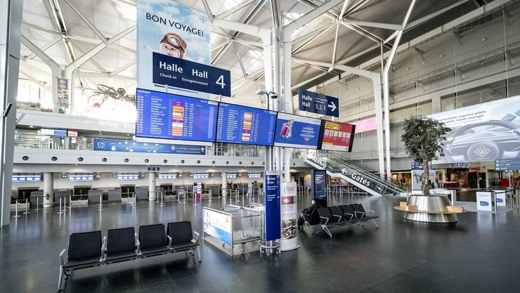 Rien ne va plus: Im Passagierverkehr sind derzeit fast alle Flüge gestrichen.