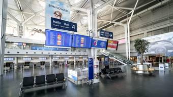 Euro-Airport leer