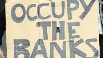 Die Zürcher Occupy-Aktivisten melden sich zurück. Für einmal steht nicht die Geld- sondern die Atompolitik am Pranger (Symbolbild)