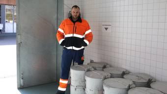 Hat sich durch die Arbeit in der Kadaversammelstelle ein dickes Fell zugelegt: Peter Stocker, Werkhofleiter in Möhlin.