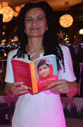 Anlässlich einer Malala-Buchlesung