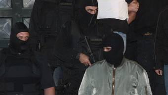 Antiterroreinheit in Griechenland im Einsatz (Archiv)