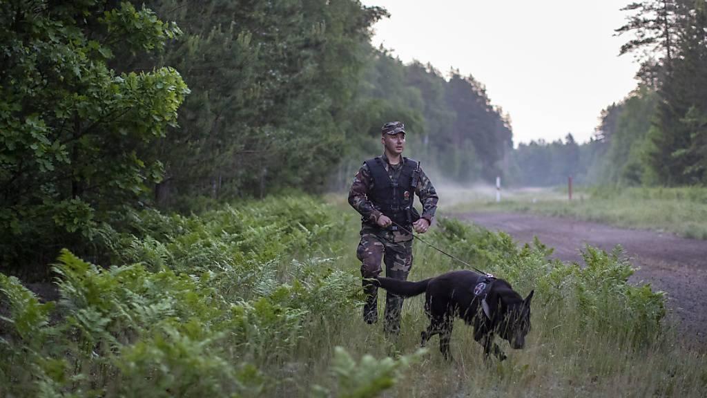 Litauen wirft belarussischen Behörden illegale Grenzübertritte vor