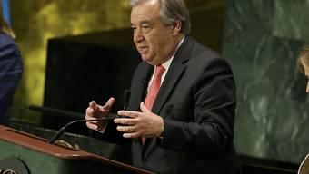 Der Portugiese Antonio Guterres, früherer Chef des UNO-Flüchtlingshilfswerks, hat laut Diplomaten gute Chancen auf den Posten des UNO-Generalsekretärs. (Archiv)