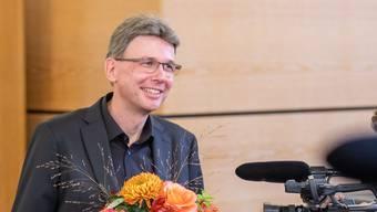 Er ist der Neue in der Regierung Dieter Egli.