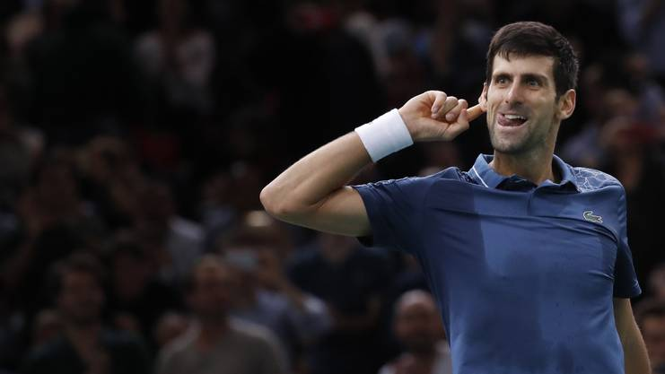 Federer sieht momentan keinen Gesprächsbedarf mit Djokovic.