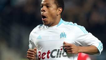 Stürmer Loïc Rémy traf zum 1:0 für Marseille