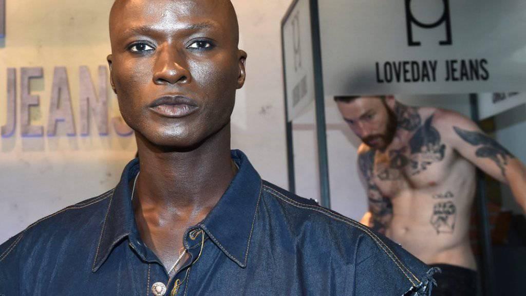Papis Loveday fand sich selber nie schön: Ins Modelbusiness ist der Senegalese, der eigentlich Leichtathlet werden wollte, in Europa zufällig reingerutscht. (Archivbild)