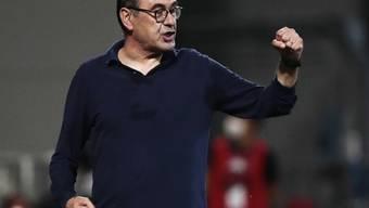 Auch für Maurizio Sarri selber war Juventus' frühes Ausscheiden eine Enttäuschung