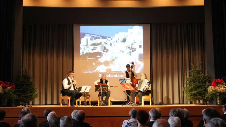 Das «Ueli Mooser Quartett» spielt zum Neujahrsapéro auf.