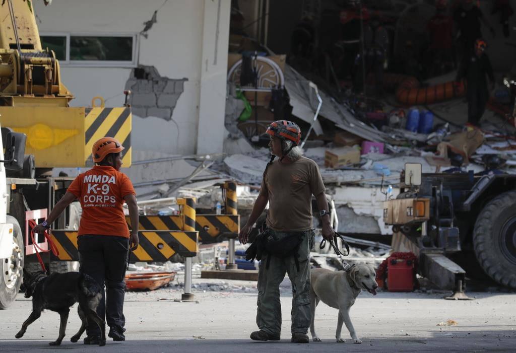 Erdbeben auf den Philippinen (© Keystone)