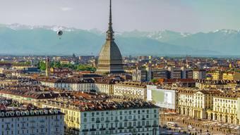Die Mole Antonelliana ragt über die Dächer Turins und ist das Wahrzeichen der Stadt. Bild: Getty Images