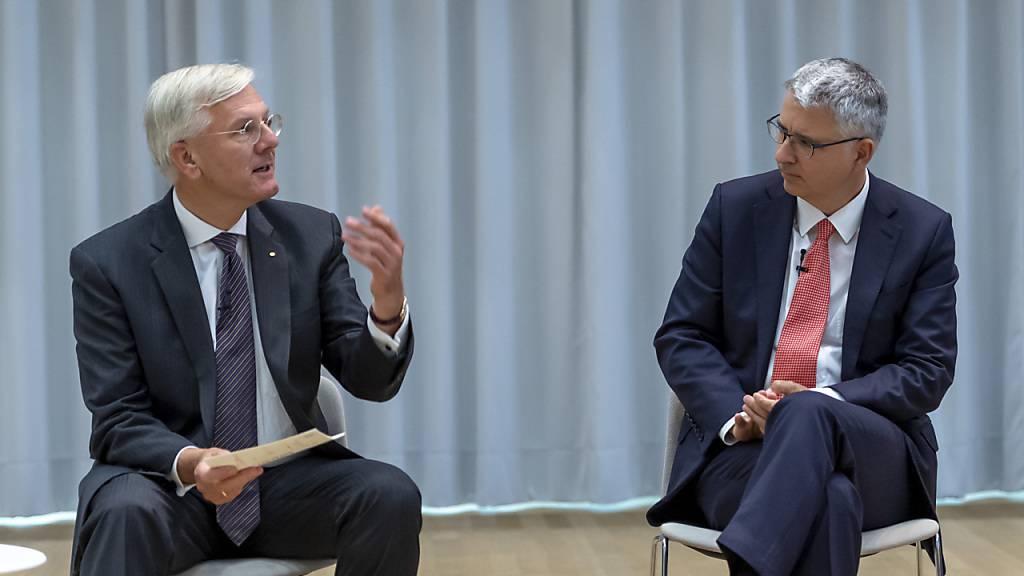 Roche-Chefs sorgen sich um digitalen Rückstand der Schweiz