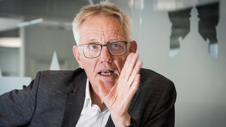 «Die Tage bis zur Wahl werden knallhart», sagt Hanspeter Trütsch.