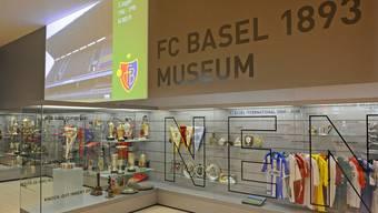 Das FCB-Museum fristet bisher halbversteckt im Fanshop ein Mauerblümchendasein.