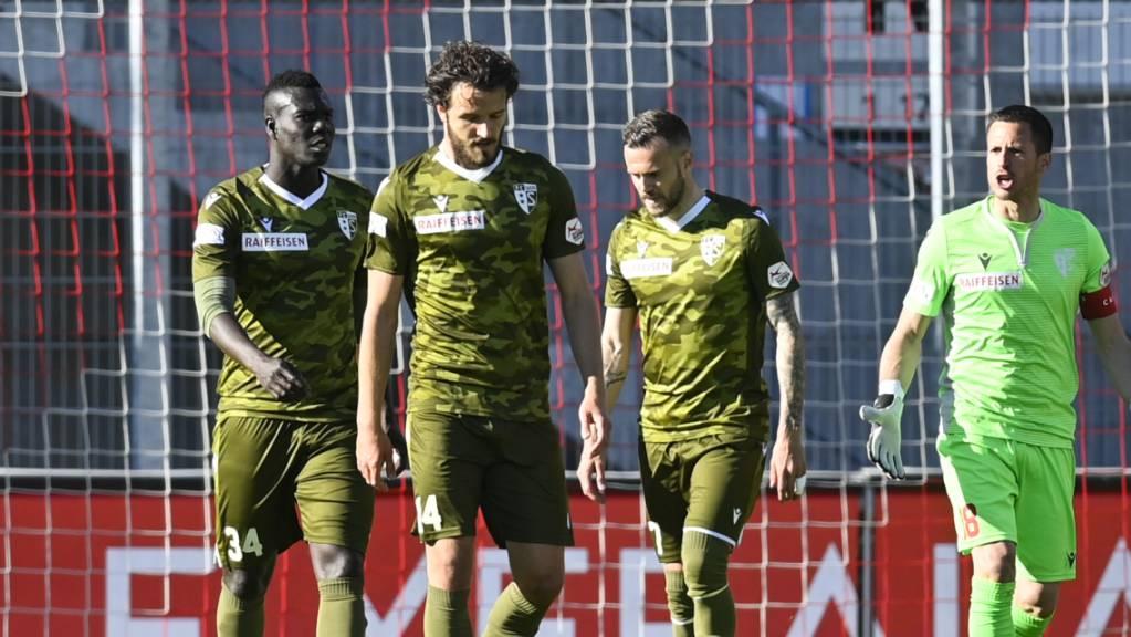 Frust und Ratlosigkeit beim FC Sion: Ein überschätztes Kader taumelt dem Abstieg entgegen.