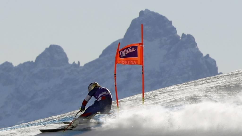 Die Saison-Derniere der Alpinen in Cortina steht wegen des Coronavirus auf der Kippe