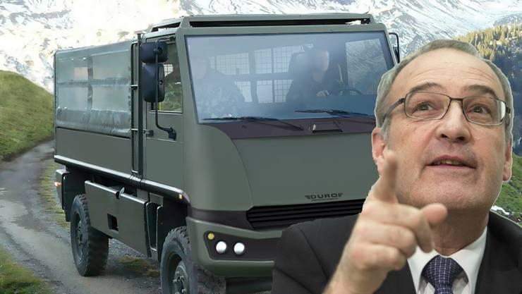 Der Duro ist der Lastesel der Schweizer Armee. Nun soll er für teures Geld saniert werden.