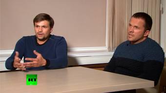 «A. Petrow» und «R. Boschirow».