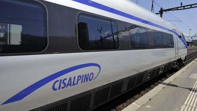 Bahnangestellte haben die Nase voll vom Cisalpino (Archiv)
