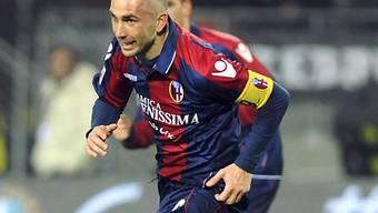 Bolognas Marco di Vaio zweifacher Torschütze gegen Juve