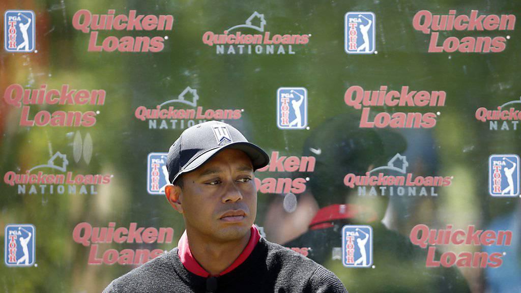Tiger Woods machte sich öffentlich Gedanken über ein mögliches Karriereende.