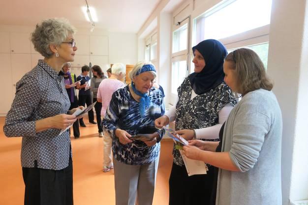 Erzählcafé für Frauen organisiert durch Dialoggruppe Christentum-Islam Dietikon