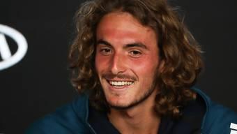 Der neue Strahlemann des Tennis: Stefanos Tsitsipas