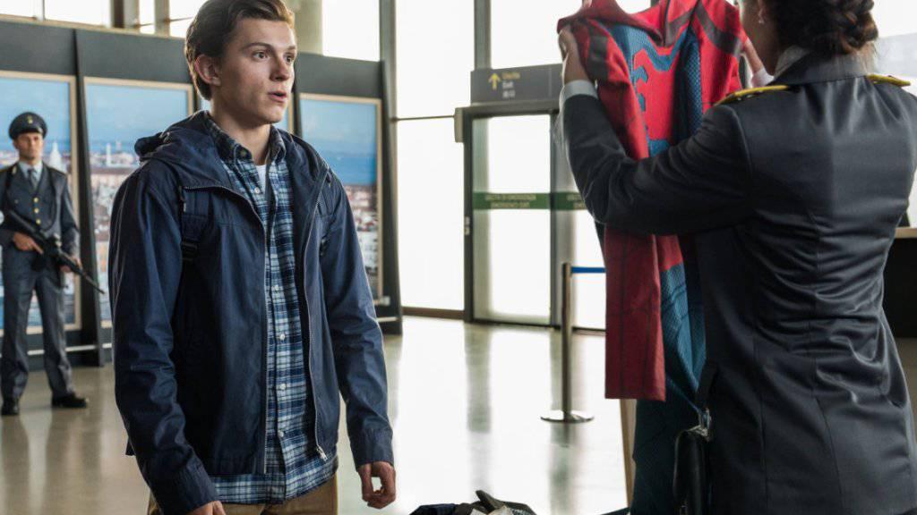 Der Film «Spider-Man: Far From Home» übernahm am Wochenende vom 5. bis 7. Juli 2019 die Spitze der nordamerikanischen Kino-Charts. (Archiv)
