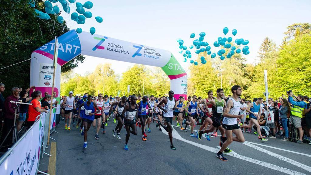 VERSCHOBEN: Zürich Marathon