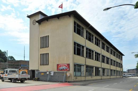 So sah das Gebäude an der Gösgerstrasse 4 vor der Sprengung aus.
