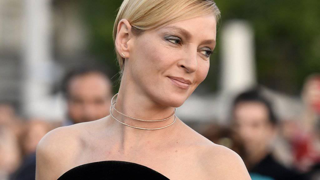 Die kühle Blonde hegt feurige Gefühle für die Stadt Zürich: Uma Thurman am Zurich Film Festival.