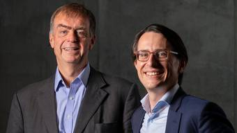 André Hoffmann (61) vertritt seine Familie im Verwaltungsrat von Roche, Jörg Duschmalé (35) wird im nächsten Jahr auf seinen Onkel Andreas Oeri folgen.