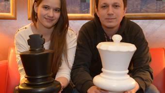 Die Königin und ihr Prinz: Alina Kashlinskaya und Radoslaw Wojtaszek. zinke