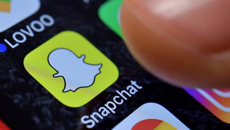 Weniger Nutzer als gedacht: Snapchat-Aktien legen einen Rückwärtsgang ein. (Archivbild)