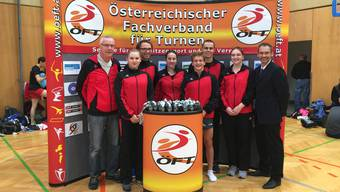 Erfolgreiche Grenchner Trampoliner am int. Alpencup in Salzburg.