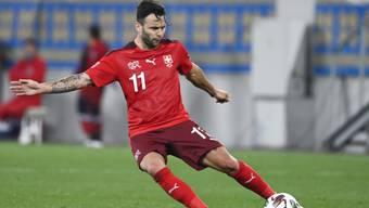 Renato Steffen darf gegen Deutschland von Beginn weg spielen