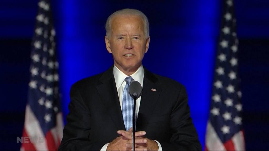Neuer US-Präsident: Ist Joe Biden eine Chance für die Schweiz?